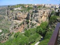 Шикарный ландшафт в Ronda, Испании Стоковые Фотографии RF