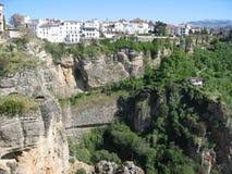 Шикарный ландшафт в Ronda, Испании Стоковая Фотография RF