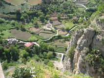 Шикарный ландшафт в Ronda, Испании Стоковое фото RF