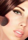 Шикарный портрет девушки Стоковое Фото