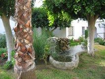 Шикарный сад в Torrox, Испании Стоковое Изображение