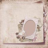 шикарный сбор винограда рамки Стоковые Фотографии RF