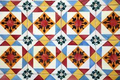 Шикарный флористический дизайн заплатки Стоковые Фото