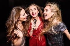 3 шикарных женщины Стоковое фото RF