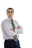 шина вручает рубашку человека Стоковая Фотография