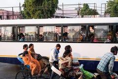 Шина в Индии Стоковые Изображения RF