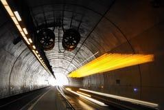 Шина в тоннеле Стоковая Фотография RF