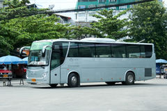шина Золот-дракона зеленой компании автобусного транспорта Стоковые Фото