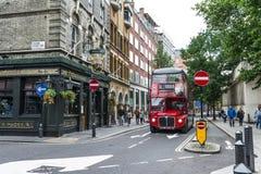 Шина Лондона Стоковая Фотография