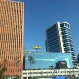 Шина на здании Стоковая Фотография RF