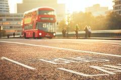 Шина общественного транспорта Стоковые Фото