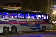 Шина Volvo компании правительства перехода Автобусный маршрут в 15 метров Стоковое Изображение RF