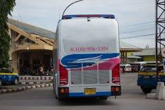 Шина Volvo компании правительства перехода Автобусный маршрут в 15 метров Стоковые Фотографии RF