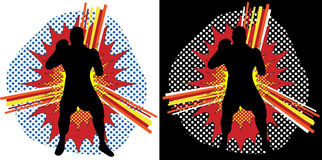 шипучка боксера искусства Стоковая Фотография RF
