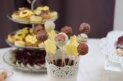 Шипучки свадебного пирога Стоковые Изображения RF