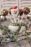 Шипучки торта рождества Стоковое фото RF
