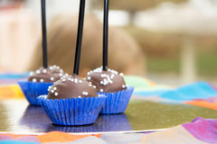 Шипучки шоколадного торта Стоковое Изображение RF