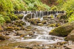 Шипы водопада Стоковая Фотография