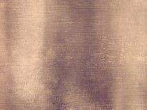 Широкая бронзовая металлическая алюминиевая промышленная текстурированная предпосылка Стоковое Фото