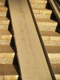 Широкая конкретная лестница Стоковая Фотография RF