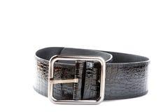 широкая пояса черная женская Стоковое Фото