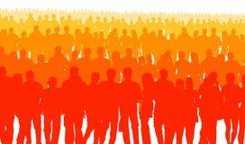 Широкая публика Стоковая Фотография RF