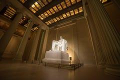 Широкая съемка Авраама Линкольна Стоковая Фотография RF