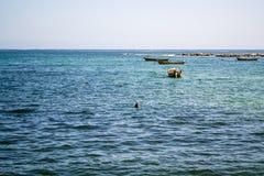 Широкая съемка моря Стоковая Фотография