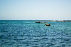 Широкая съемка моря Стоковое Изображение RF