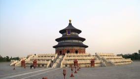 Широкая съемка от Temple of Heaven в Пекине акции видеоматериалы