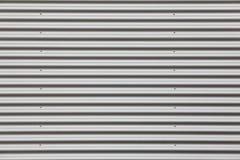 Широкая съемка серебряное рифлёного Стоковые Изображения RF
