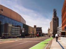Широкая улица, Rochester, Нью-Йорк стоковые фотографии rf