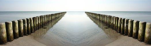 Широкий океан Стоковое Изображение RF
