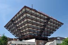 широковещание размещает штаб slovak радио стоковое фото
