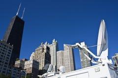 широковещание chicago городской Стоковое Фото