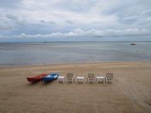 Широкое море & голубое небо Стоковое Изображение