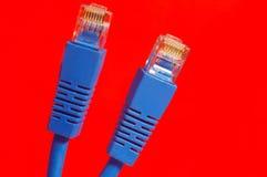 широкополосные кабели стоковое изображение rf