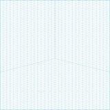 Широкоформатная равновеликая предпосылка миллиметровки решетки Стоковые Фотографии RF
