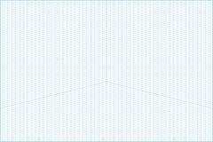 Широкоформатная равновеликая предпосылка миллиметровки решетки Стоковое Изображение RF