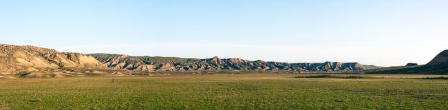 Широкоформатный ландшафт гор стоковая фотография rf