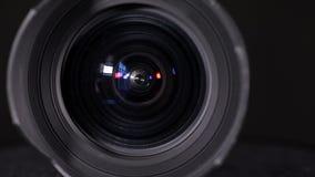 Широкоформатный объектив фотоаппарата сигнала акции видеоматериалы