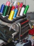 шить машины стоковые изображения rf