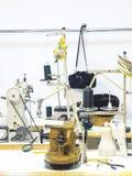 шить woking магазин Стоковая Фотография RF