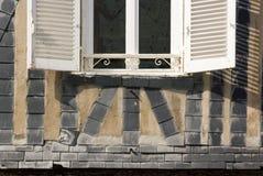 Шиферы на стенах, защите против брызг моря Стоковое фото RF