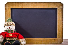 Шифер девственницы с украшением стоковое изображение rf