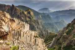 Шифер Мадейра горы стоковое фото rf