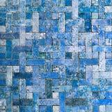 Шифер grunge предпосылки плитки мозаики Стоковые Фотографии RF