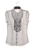 Шифоновая блузка с jabot Стоковые Изображения