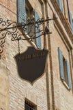 Шильдик гостиницы Стоковая Фотография RF