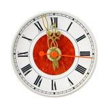 Шкала сетноых-аналогов часов Стоковое фото RF